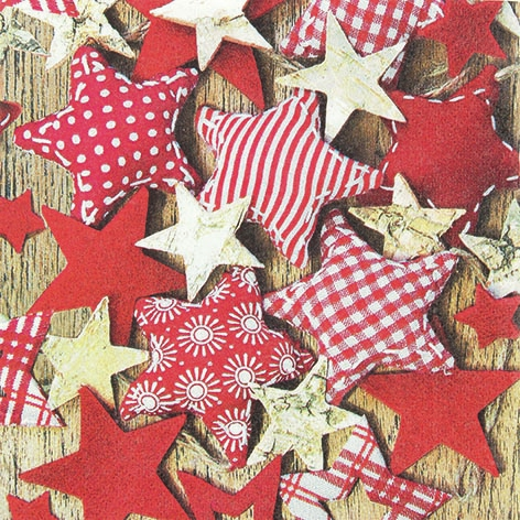 Lunch Servietten Handmade Stars