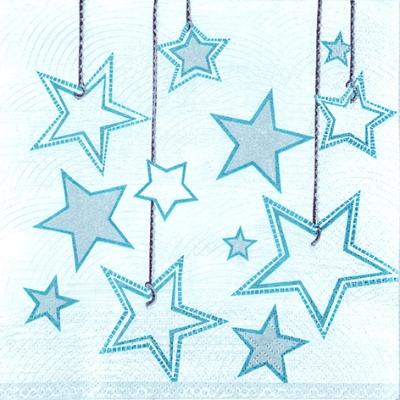 Servietten Weihnachten,  Weihnachten - Sterne,  Weihnachten,  lunchservietten,  Sterne
