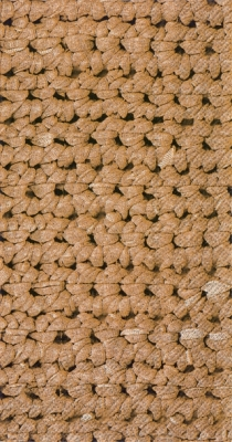 Buffet Servietten CROCHET light brown
