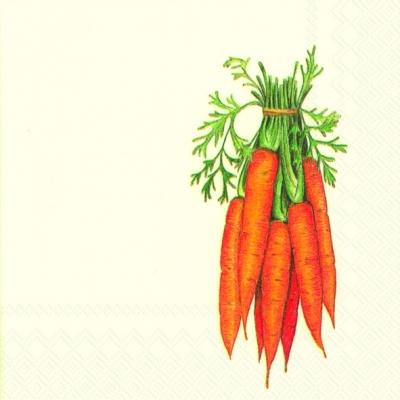 Servietten,  Gemüse -  Sonstiges,  Everyday,  cocktail servietten,  Möhren
