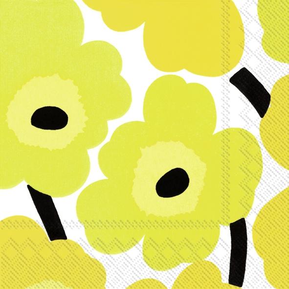 Servietten 25 x 25 cm,  Blumen -  Sonstige,  Everyday,  cocktail servietten