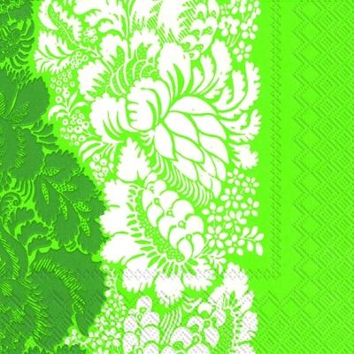 Cocktail Servietten ANANAS green