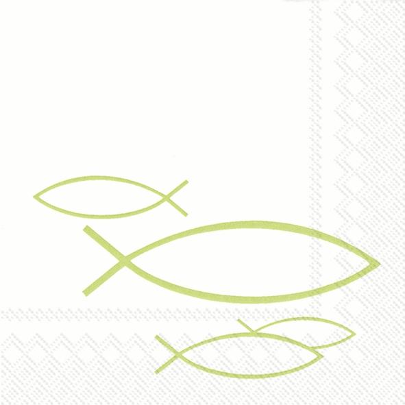 Servietten,  Tiere - Fische,  Ereignisse - Kommunion,  Everyday,  cocktail servietten,  Fische