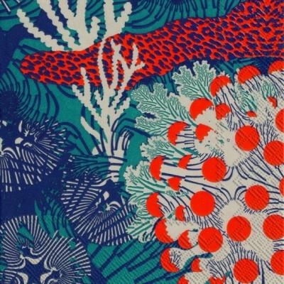 Marimekko FI,  Sonstiges - Muster,  Everyday,  cocktail servietten,  Ornamente,  Muster