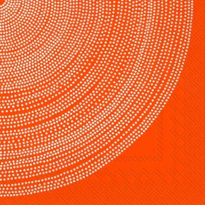 Marimekko FI,  Sonstiges - Muster,  Everyday,  cocktail servietten,  Punkte,  orange