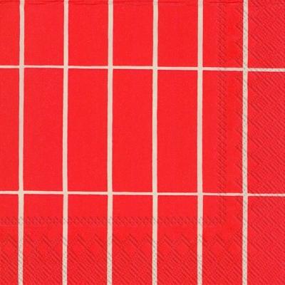 Cocktail Servietten TIILISKIVI red,  Sonstiges - Muster,  Everyday,  cocktail servietten,  Muster