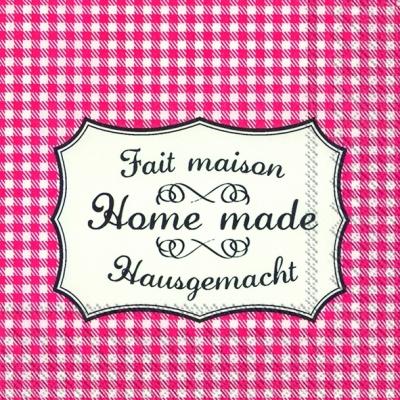IHR Ideal Home Range,  Sonstiges - Schriften,  Everyday,  cocktail servietten,  Schriften,  Karos