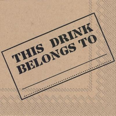 IHR Ideal Home Range,  Getränke -  Sonstige,  Sonstiges - Schriften,  Everyday,  cocktail servietten