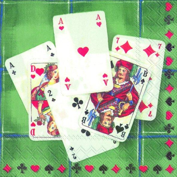Everyday,  Spiele - Spielkarten,  Everyday,  cocktail servietten,  Kartenspiel