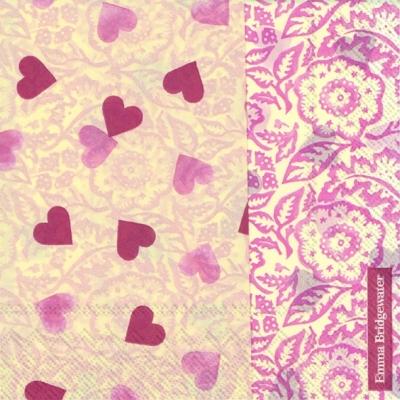 Servietten zum Thema Liebe,  Sonstiges -  Sonstiges,  Ereignisse - Liebe,  Everyday,  lunchservietten,  Herzen,  Ornamente,  Liebe