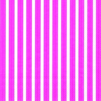 Lunch Servietten Stripes again pink,  Sonstiges - Muster,  Everyday,  lunchservietten,  Linien,  Streifen