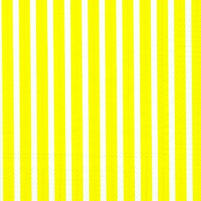 Lunch Servietten Stripes again yellow,  Sonstiges - Muster,  Everyday,  lunchservietten,  Linien,  Streifen