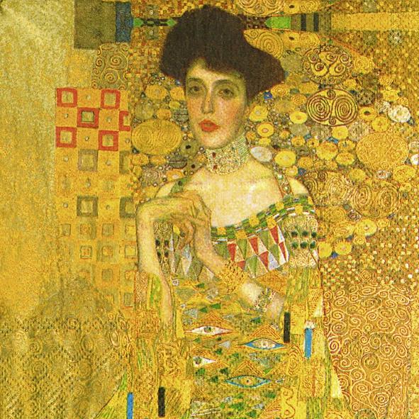 Servietten / Bilder Gemälde,  Menschen - Personen,  Sonstiges - Bilder / Gemälde,  Everyday,  lunchservietten,  Frau