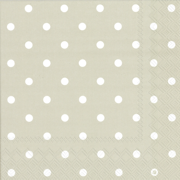 Lunch Servietten LITTLE DOTS linen