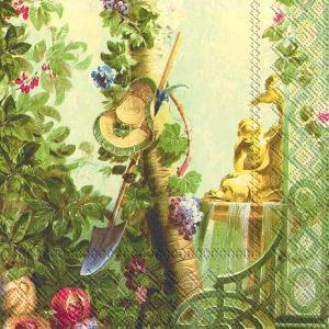 Servietten 33 x 33 cm,  Pflanzen -  Sonstige,  Everyday,  lunchservietten,  Schaufel,  Garten,  Baum
