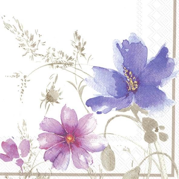 Servietten / Sonstige Blumen,  Blumen -  Sonstige,  Everyday,  lunchservietten