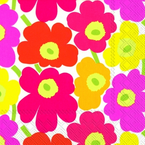 Servietten Blumenmotive,  Blumen -  Sonstige,  Everyday,  lunchservietten,  Blumen