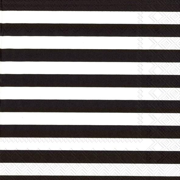 Marimekko FI,  Sonstiges - Muster,  Everyday,  lunchservietten,  Streifen,  Linien