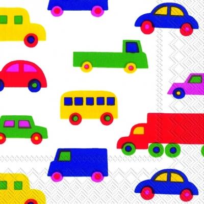 Servietten / Autos,  Fahrzeuge - Autos,  Everyday,  lunchservietten,  Auto