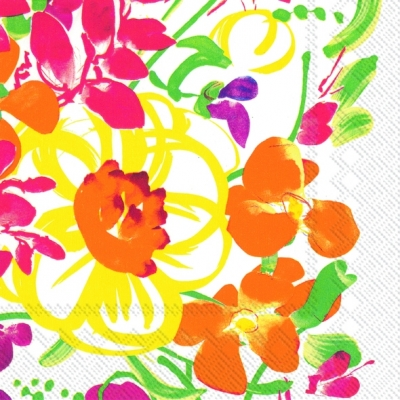 Lunch Servietten Ursula,  Blumen -  Sonstige,  Everyday,  lunchservietten,  Blumen