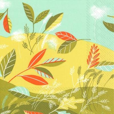 Servietten,  Herbst - Blätter / Laub,  lunchservietten,  Blätter