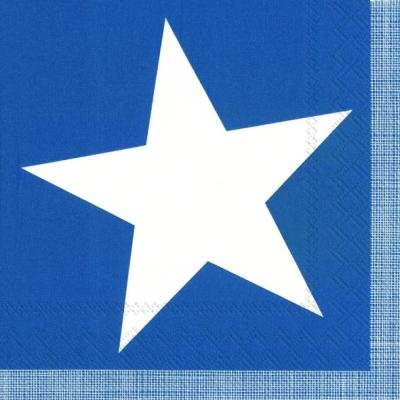IHR Ideal Home Range,  Sonstiges -  Sonstiges,  Everyday,  lunchservietten,  Sterne,  blau