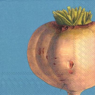 Lunch Servietten TURNIP,  Gemüse -  Sonstiges,  Herbst,  lunchservietten,  Gemüse