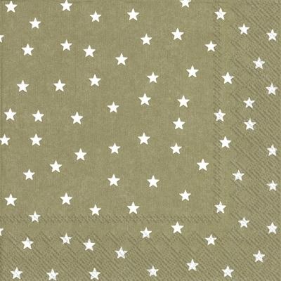 Servietten 33 x 33 cm,  Weihnachten - Sterne,  Weihnachten,  lunchservietten,  Sterne