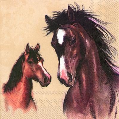 Motivservietten Gesamtübersicht,  Tiere - Pferde,  Everyday,  lunchservietten,  Pferde