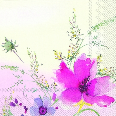 Villeroy & Boch,  Blumen -  Sonstige,  Everyday,  lunchservietten,  Blumen