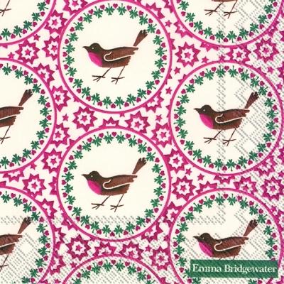 Motivservietten Gesamtübersicht,  Tiere - Vögel,  Weihnachten,  lunchservietten,  Herzen,  Vögel,  Sterne