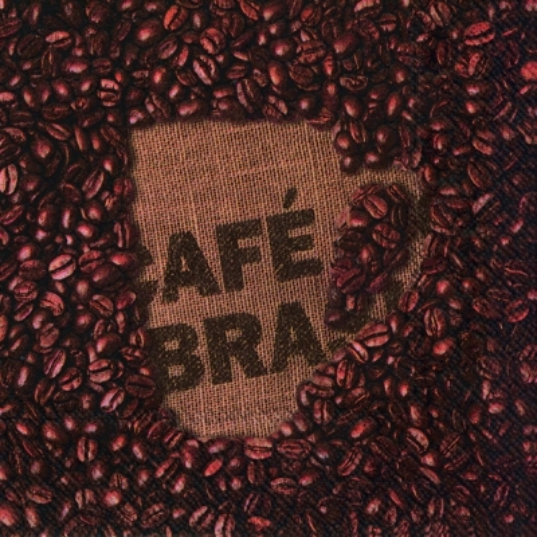 Lunch Servietten CAF? BRASIL,  Getränke Kaffee / Tee,  Everyday,  lunchservietten,  Kaffeebohnen,  Kaffee