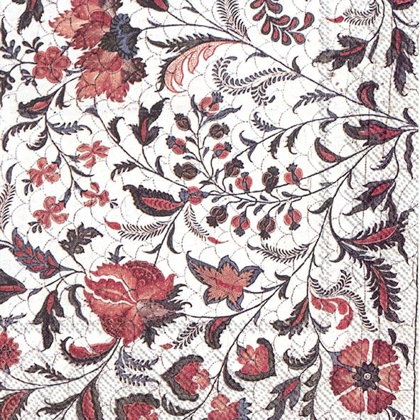 Lunch Servietten BED COVER COAT OF ARMS,  Pflanzen -  Sonstige,  Blumen -  Sonstige,  Everyday,  lunchservietten,  Pflanzen,  Blumen