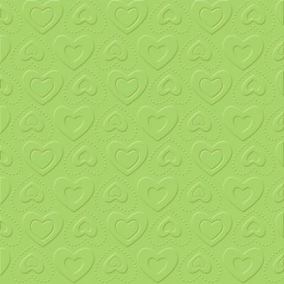 Servietten 33x33 cm - CARINO UNI opal grün