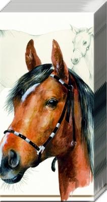 Taschentücher HORSE                                   ,  Tiere,  Everyday,  bedruckte papiertaschentücher,  Perd,  Reiten,  Bauernhof-Tiere