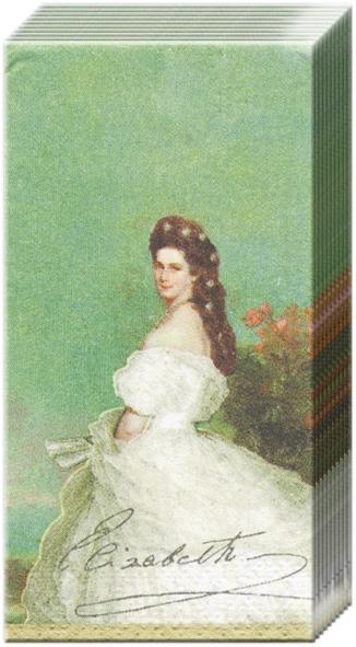 10 bedruckte Taschentücher SISSI                                   ,  Sonstiges,  Everyday,  bedruckte papiertaschentücher