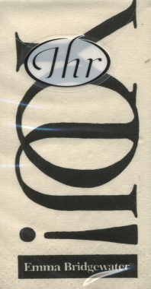 Taschentücher Black Toast,  Sonstiges,  Everyday,  bedruckte papiertaschentücher,  Schriften