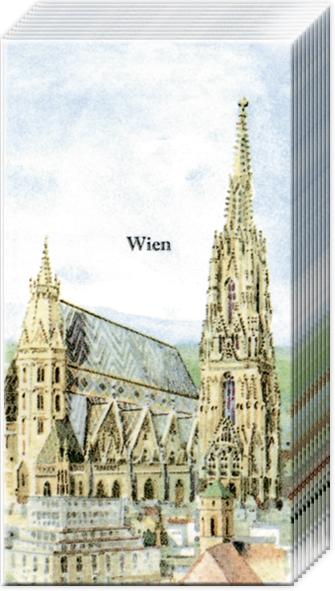 Taschentücher Wien Stephansdom,  Everyday,  bedruckte papiertaschentücher