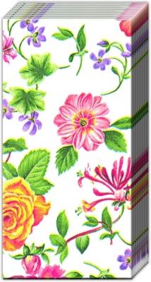Taschentücher / Blumen,  Blumen,  Everyday,  bedruckte papiertaschentücher,  Blumen