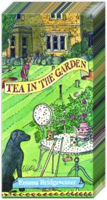 Taschentücher Tea in the Garden,  Sonstiges,  Everyday,  bedruckte papiertaschentücher,  Garten,  Tee