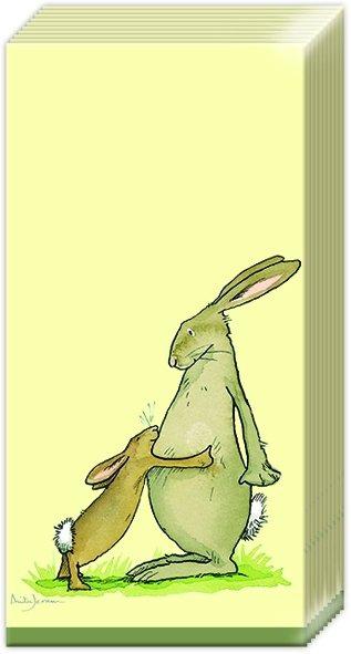 Taschentücher YOU ARE THE BEST,  Tiere,  Ostern,  bedruckte papiertaschentücher,  Hasen