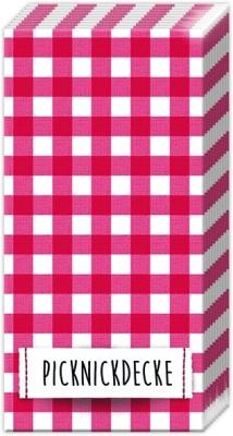 Taschentücher PICKNICKDECKE,  Sonstiges,  Everyday,  bedruckte papiertaschentücher,  Karos