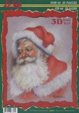 3D Bogen / Bücher,  Weihnachten - Weihnachtsmann,  3D Bogen