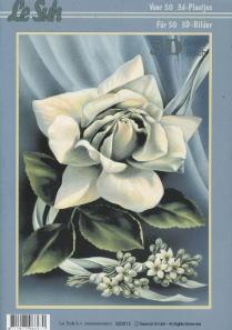 3D Bogen Buch Blumen - Format A4