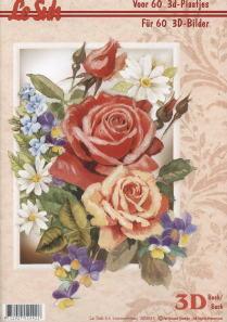 3D Bogen Buch Rosen - Format A4,  Blumen - Rosen,  Le Suh,  3D Bogen,  Rosen