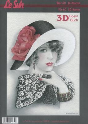 3D Bogen Buch  - Format A4,  Menschen - Personen,  Le Suh,  3D Bogen,  Romantik