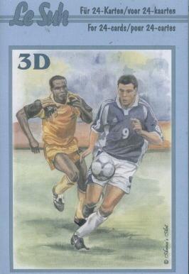 3D Bogen Buch Sport - Format A6, Sport - Fußball,  Menschen - Personen,  Le Suh,  3D Bogen,  Personen,  Sport