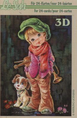 3D Bogen Buch Kinder - Format A6,  Menschen - Kinder,  Le Suh,  3D Bogen,  Kinder