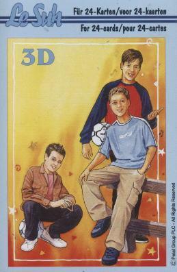 3D Bogen Buch Teenagers - Format A6,  Menschen - Personen,  Le Suh,  3D Bogen,  Jungen