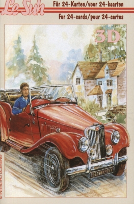 3D Bogen Buch Fahrzeuge - Format A6,  Fahrzeuge - Autos,  Le Suh,  3D Bogen,  Fahrzeuge - Fahrzeuge